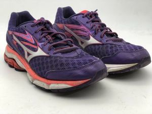 Women Mizuno Wave Inspire 12 Purple Shoes Sz 8.5
